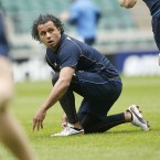Isa Nacewa during the Leinster Captains run (Mandatory Credit INPHO/Billy Stickland).