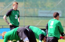 James McClean gets the nod for Bosnia friendly