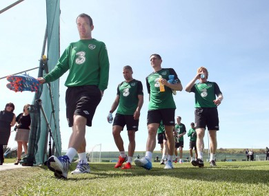 Glenn Whelan, Jonathan Walters, Keith Andrews and Paul McShane.