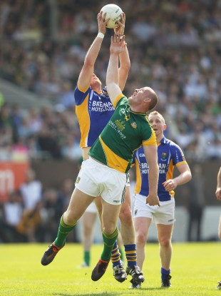Meath's Joe Sheridan and James Stafford of Wicklow.
