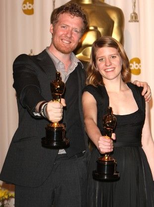 Glen Hansard and Marketa Irglova at the Academy Awards 2007. 
