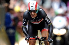 Cancellara takes yellow jersey in Tour de France prologue