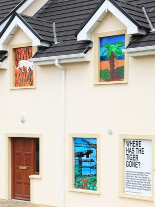 Paintings made by Sneem schoolchildren