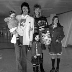 Paul McCartney with wife Linda and children Stella (being carried), Mary (centre) and Heather at Heathrow Airport, London before leaving for a holiday in Jamaica in December 1973. (PA/PA Archive/Press Association Images)