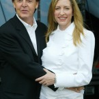 Paul McCartney and his wife Heather, prior to his concert at the Sheffield Arena in June 2001. (Phil Noble/PA Archive/Press Association Images)
