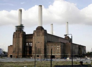 Battersea Power Station.