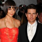 Katie Holmes and Tom Cruise at the Costume Institute Gala at the Metropolitan Museum in New York City in 2008 (Photo: Tammie Arroyo/Press Association Images)