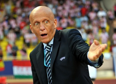 Pierluigi Collina: admission.