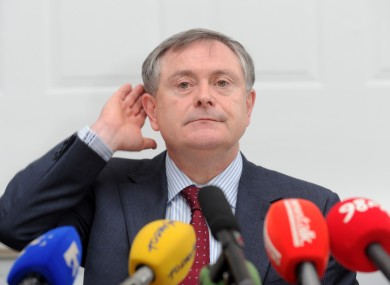 Public Expenditure and Reform Minister Brendan Howlin