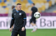 Returning Rooney vows to control his temper against Ukraine