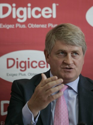 Denis O'Brien, Digicel's chairman and founder