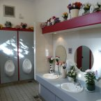 Flickr user Jean Pierre Bailey says that this Scottish restroom was the