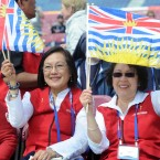 Pilgrims from Vancouver, Hilda Yee and Josie Pineda