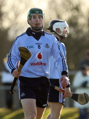 McCaffrey in action for Dublin.