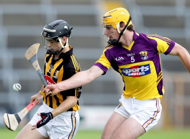 Rematch: Kilkenny's Ger Aylward and Wexford's Michael O'Regan will square off at U21 level again tonight.