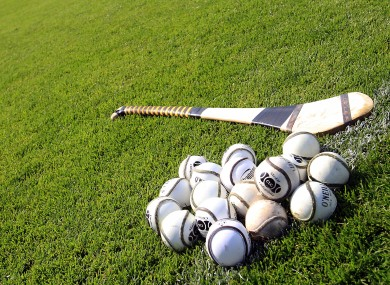 A general view of hurley and sliotars.
