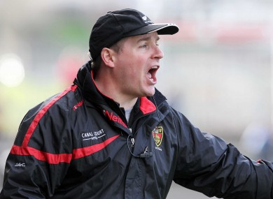 James McCartan is hoping to guide Down to a place in the Ulster final.