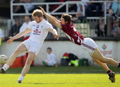 Kildare's Tomas O'Connor and Kevin Maguire of Westmeath will feature for their counties this weekend.