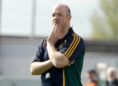 Offaly boss Ollie Baker.