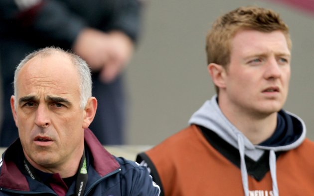 Anthony Cunningham and Joe Canning 3/6/2012