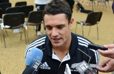 No Dan Carter in All Blacks' XV to face Ireland in final test