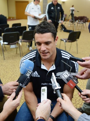 Dan Carter: ruled out with hamstring injury.