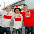 Rafael, Martin and Tomas from Poznan at Dublin Airport.