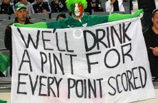 Irish supporters showed 'they can't handle alcohol' – NZ police chief