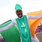 EURO 2012 Republic of Ireland Fans, Poznan, Poland