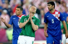 As it happened: Ireland v Croatia, Euro 2012
