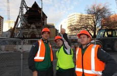 In pictures: Irish team visit Christchurch's Red Zone