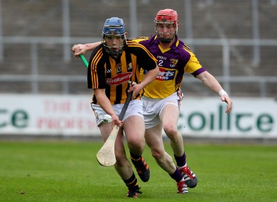 Cats In Control: Attacker Ger Aylward was one of a number of impressive players in the Kilkenny U21 side tonight.