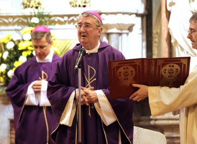 Dublin Archbishop Diarmuid Martin who presided over the ordination of eight deacons. 
