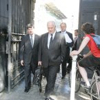 John Bruton pictured at the Mahon Tribunal in 2006.