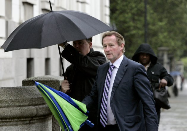 24/07/2012 Cabinet Meeting. Taoiseach Enda Kenny T