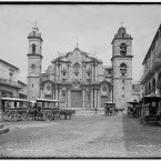 La Catedral in Havana, circa 1900. (Library of Congress, Prints & Photographs Division)