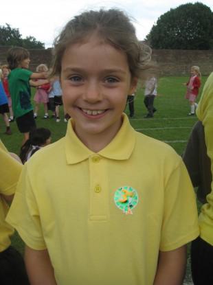 Nine-year-old Niamh Gallagher
