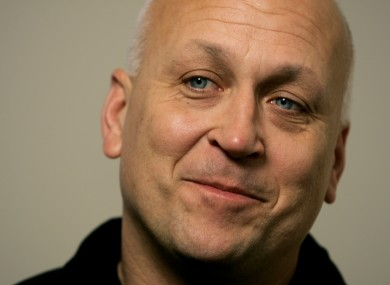* FILE ** Cal Ripken reacts as he answers a question during an interview in Baltimore.