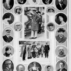 Survivors and missing from the Lusitania.