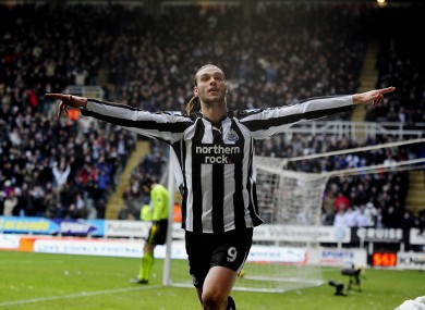 Carroll during his Newcastle days.