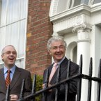 With David Drumm, November 2004 (Pic Photocall Ireland)