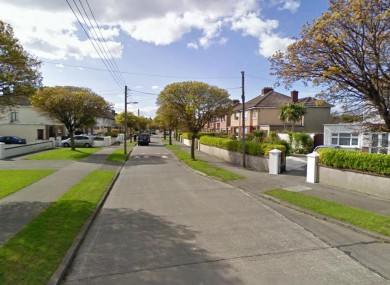 St Assam's Avenue in Raheny, north Dublin (File photo)
