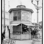 A street corner shop selling its wars circa 1904. (Library of Congress, Prints & Photographs Division)