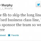 Barry Murphy takes full advantage of his high profile.