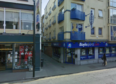 The junction of Bessexwell Lane and Shop Street in Drogheda, where Deepak Abbi was involved in an altercation last Thursday.