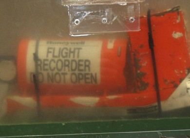 One of the two flight recorders of AF447 which was recovered nearly two years after the crash 