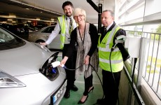 Electric cars can now be powered up at Dublin Airport