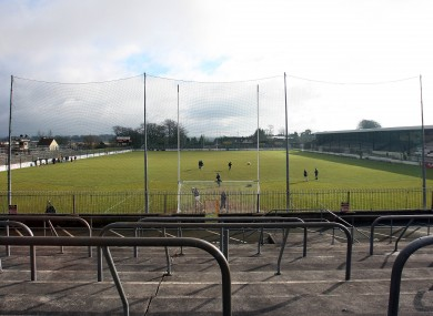 St Conleth's Park in Newbridge will not be used to host Kildare's qualifier next Saturday.