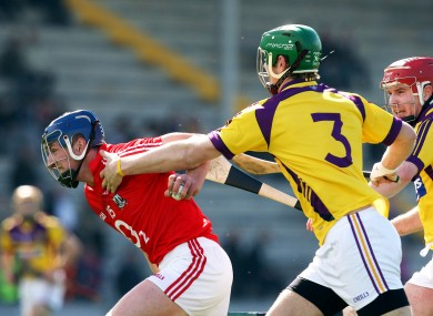 Cork's Patrick Horgan and Wexford's Matthew O'Hanlon in action in last year's league meeting.