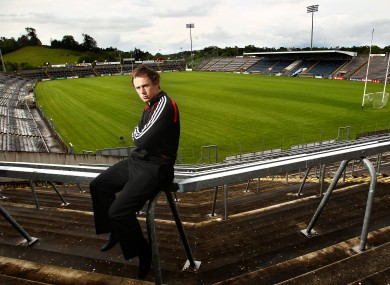 Seanie Johnston pictured at Kingspan Breffni Park last year.
